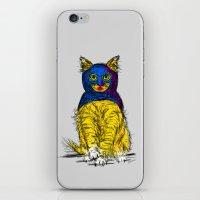 BAT CAT MAGIC iPhone & iPod Skin