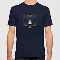 Cougar-shirt Mens Fitted Tee Navy SMALL