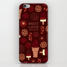 Must Love Chocolate iPhone & iPod Skin