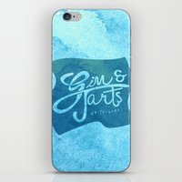 Gin & Tarts iPhone & iPod Skin