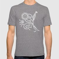Ornate Square Tangle, An… Mens Fitted Tee Tri-Grey SMALL