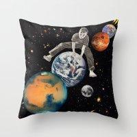 Star Hopper Throw Pillow