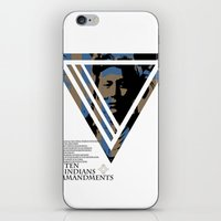10 Red Indians Commandme… iPhone & iPod Skin