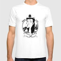 Bad Luck Mens Fitted Tee White SMALL