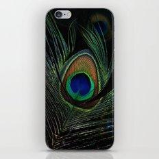 peacock eye iPhone & iPod Skin