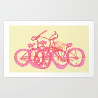 It's WHEELIE cool Art Print