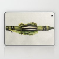 To The Core: Green Laptop & iPad Skin