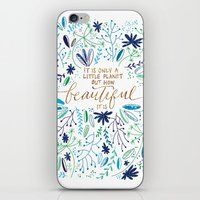 Beautiful Planet iPhone & iPod Skin