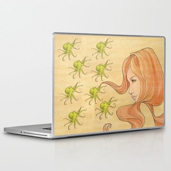 The Octopus Mermaid 1 Laptop & iPad Skin