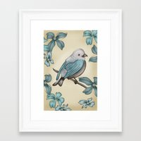 Bird Framed Art Print
