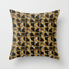 scribble (yellow) Throw Pillow