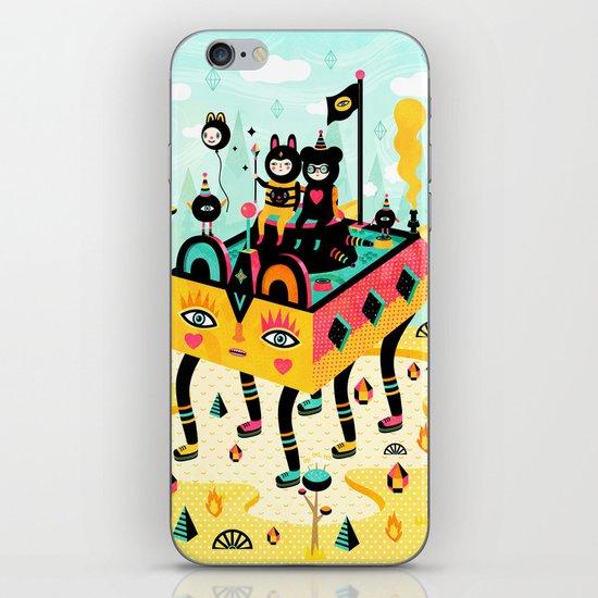 Hanging around! iPhone & iPod Skin