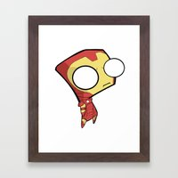 Gir- Iron Man Framed Art Print