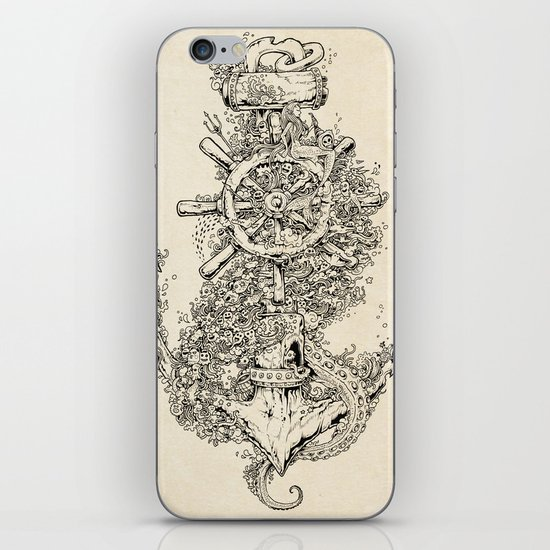 Into The Deep iPhone & iPod Skin