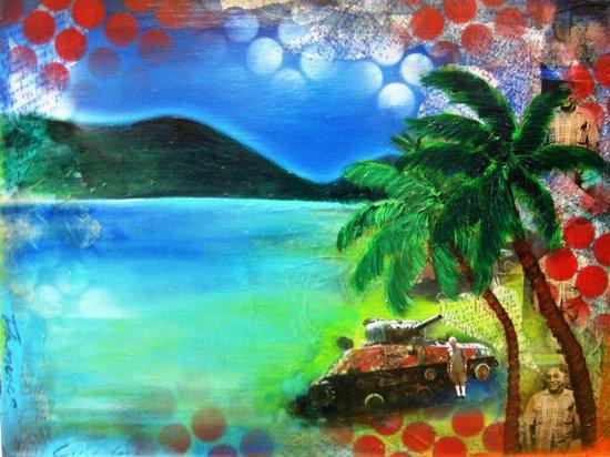 Flamenco Culebra Art Print
