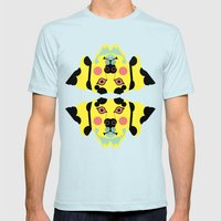 Cruella De Vil's Lucid Nightmare Mens Fitted Tee Light Blue SMALL