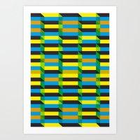 Cinetism And Visual Effe… Art Print