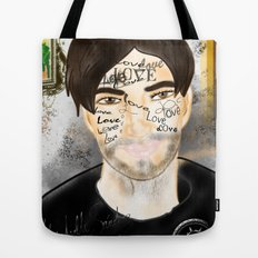 The Word you Never Say (Giannis). Tote Bag