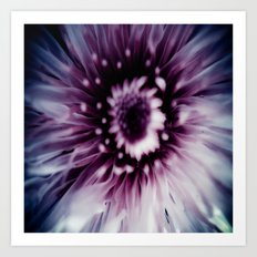 Purple love Art Print