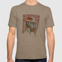 I saw emptiness and found myself there Mens Fitted Tee Tri-Coffee SMALL
