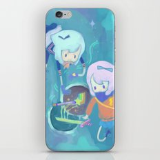 Double Trouble iPhone & iPod Skin