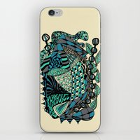 The wind that rocks the leaves iPhone & iPod Skin