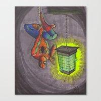 Zap Canvas Print