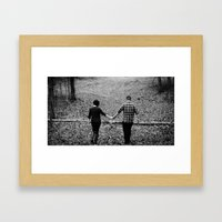 Fated  Framed Art Print