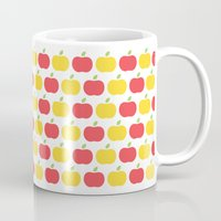 The Essential Patterns of Childhood - Apple Mug