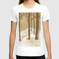 Forest is Alive! Womens Fitted Tee White SMALL