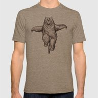 Balance Mens Fitted Tee Tri-Coffee SMALL