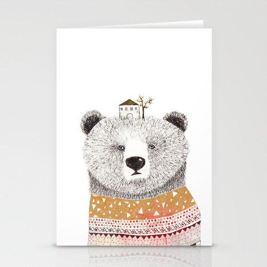 Mr. Bear Stationery Card
