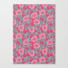 Roses Pink Canvas Print