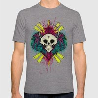 The Beauty of Color and the Strange Mens Fitted Tee Tri-Grey SMALL