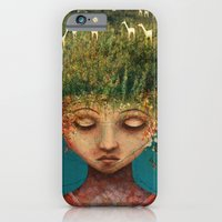 iPhone & iPod Case featuring Quietly Wild by Fizzyjinks