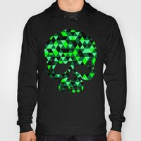 Triangle Camouflage Skull (WITHE) Hoody