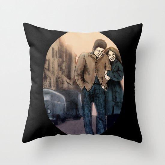 Freewheelin' Throw Pillow