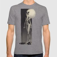 Catwoman Mens Fitted Tee Tri-Grey SMALL