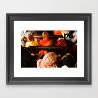 Kafia Framed Art Print