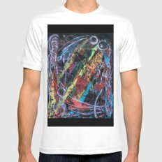 bones in radiation - left Mens Fitted Tee White SMALL