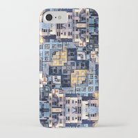 community iPhone & iPod Cases featuring Community of Cubicles by Phil Perkins