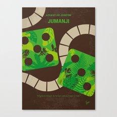 No653 My Jumanji minimal movie poster Canvas Print