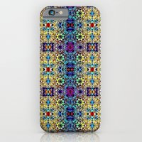 iPhone & iPod Case featuring Deco Garden 3 by TheLadyDaisy