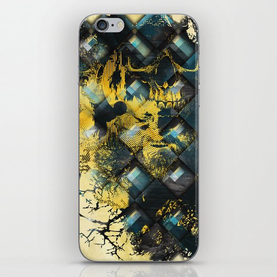 Abstract Thinking Remix iPhone & iPod Skin