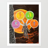 The Universal Four Habit… Art Print
