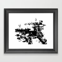 Terri-Airship Framed Art Print
