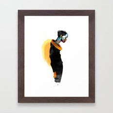 Thanatos Framed Art Print
