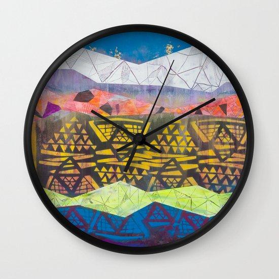 tropical fantasy soda Wall Clock
