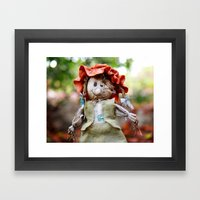 Autumn Scarecrow Framed Art Print
