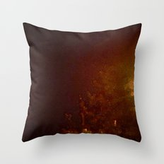 A Cold Winter Night Throw Pillow